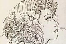 Doodles / drawing inspiration / by Chelsey Krause