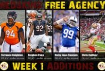 2015 Redskins Free Agency / Pluses and minuses to the #Redskins Roster via 2015 Free Agency / by TheHogs.net