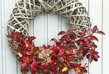 Wreaths / wreaths, home decor, gardening, welcoming entry