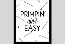 Big Primpin' / My beauty board that features hair styles and colors, makeup tips, nails, etc. / by Sarah Dean