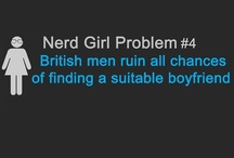 Nerd Girl Problems / The story of my life. 'Nuff said. / by Amanda Bellis