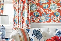 Thibaut Wallpaper Design / A collection of Thibaut wallpaper patterns and uses. The full Thibaut line is available at mahoneswallpapershop.com.