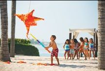 Kids' Corner / Four Seasons Resort Punta Mita offers a wonderful family vacation destination with a professionally supervised complimentary program - Kids For All Seasons - offering children a fun way to spend their days, either on a playroom or an outdoor playground with a jungle gym. Plus a wide range of kids-friendly activities designed to take advantage of Punta Mita's natural environment, including Mexican-style art, collect shells, golf and tennis clinics and more!