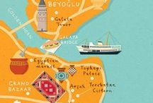 Illustrated Maps / by Olivia Coote