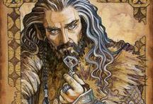 Art: The Hobbit / Artwork inspired by the glorious Hobbit book and movies, by Soni Alcorn-Hender (Bohemian Weasel)