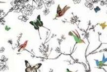 Put a bird on it! / Birds can be dark and mysterious or fun and lively. Incorporating birds into your decor is another way to bring the outdoors in.