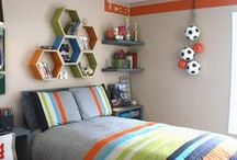 Boys Rooms to Envy / Boys can sometimes be difficult to decorate for. Use these boards for some amazing ideas to make your boys' room the envy of all of their friends.
