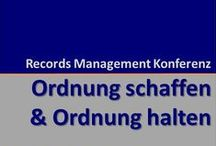 Records Management / Records Management: Functionality, Standards, Trends & Events.