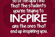 Get motivated / Motivational quotes with teachers in mind.
