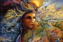 Gaia's Emotions / Volcanoes, storms, waves, lightning and any other ways Mother Nature expresses herself powerfulness. / by Khaili Allen