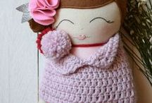 Giò Crochet and more -Bambole-Tiny Flower Dolls