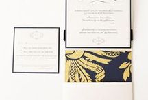 Elegant Wedding Stationery / Beautiful crafted with love unique wedding stationery fit for your perfect day.