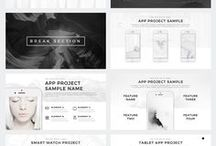 P R E S E N T A T I O N S / Presentation design & Layouts