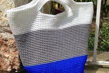 My crochet bags / Τσαντες πλεκτες με βελονακι