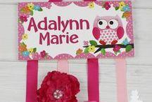 Owls Love Birdies Girls Bedroom Decor