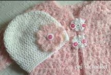 My crochet baby clothes