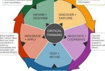 """Critical Thinking / """"The imparting of knowledge (content) and the development of thinking skills are accepted today as primary purposes of education"""" - The Australian Curriculum / by Sam Boswell"""