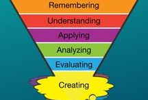 Bloom's Taxonomy / Framework to conceputalise higher order thinking skills and their practice. / by Sam Boswell