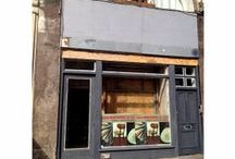 130 Shoreditch High Street / Our new shop will soon open in Shoredith High Street. Here is update on the progress
