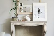 Home Inspiration - Fireplace / by Anne Farrell