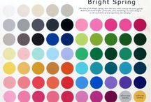 Seasonal Palettes - Bright Spring!