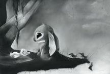 My Illustrations / a variety of my illustrations - mostly charcoal & pastel but other mediums might be mixed in / by Will Pigg