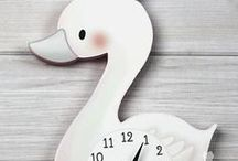 Swan Princess Décor for Girls Bedrooms and Baby's Nursery