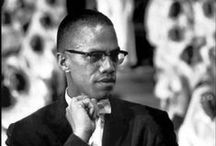 Malcolm X / Malcolm X / by Downs-Jones Library