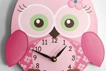 Sweet Little Owl / Sweet little owls you're sure to adore for a soft and sweet look in your baby girl's bedroom or nursery.