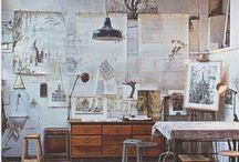 Studio spaces / Inspiring work spaces, studios and workshops