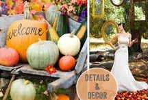 Rustic Fall Wedding / by Shelbie Brooks