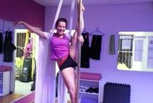 Vertical Secrets Pole Dance Studio / We offer pole dance fitness to everyday women of all ages, shapes and sizes. With pole dance fitness, you will lose weight and get in shape. Other benefits of pole dancing is increased body tone, muscle definition, increased fitness levels, improved flexibility, co-ordination, weight loss and increased confidence. We also offer pole'n'silks (pole aria), aerial hoop, specialized pole workshops, pole fit/body conditioning and more.