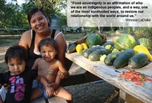 Food Sovereignty / by Trees, Water & People