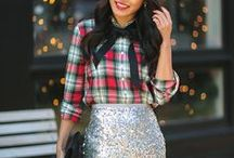 Holiday style / Holiday outfit ideas