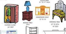 Dollhouse Furniture / Miiniature furniture - catch-all board of  tutorials, tips & strategies. See also specific boards: Dollhouse Bedrooms, Dollhouse Chairs & Sofas, Doilhouse Tables, Dollhouse library shelving and bookcases, Dollhouse Kitchen etc.