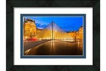 Parisian Artwork and Design - Imagery of Paris / Artwork depicting the gorgeous architecture and scenic vistas of Paris. If you've been to Paris or dream of it, this art will remind you why. Most of the art on display is available as fine art prints, as well as ready to hang framed, metal, acrylic, and canvas prints.
