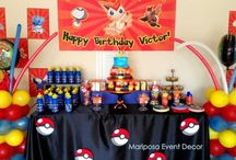 Haley bday / Haley's pokemon party / by Kate Peterson