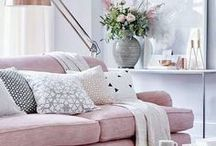 Living Rooms / home decor // living room & family room inspiration