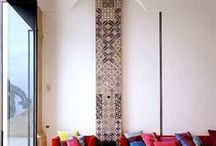 Tile Creations / Different ways to use tile for decor