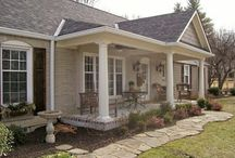 Front porch additions / by Gail Maybee