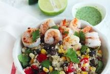 Pescetarian Lifestyle / Meal ideas, facts and information, as well as protein alternatives for pescetarians