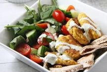 Salads Don't Have To Be Boring / Salads are one of the best dishes when done right! Lots of fun salad ideas, dressings, and different toppings to add on to make your salad the best.