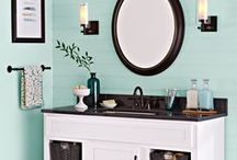 Bathrooms / home decor // bathroom inspiration