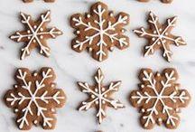 Christmas / recipes, decor, & crafts for Christmas {Christmas recipes, Christmas decor, Christmas crafts, Christmas cookies, Christmas tree, gingerbread house, snowflakes}
