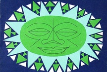 Girard-esque Suns / Ideas and inspiration for folky-modern suns à la Alexander Girard.