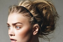 Hair Up! /  See the best celebrity hair up hairstyles and updos and get ideas for party hair. See more pictures of the best celebrity hairstyles. / by Eva Llorens Estilista