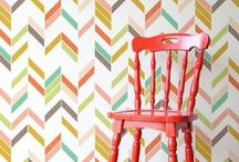 Home || Off the WALLpaper / I heart wallpaper.  The trend seems to have gone in and out several times over the decades, but I'm not that fickle. Some wall in my house will always have a little fancy.  So, Here are wallpapery lovelies curated just for you and me.  #wallpaper