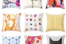 Home || Pillow Talk / Perfect poufs, ottomans, floor pillow and throw pillow goodness for your home.