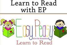 Homeschool: Reading/Phonics/Writing / by Essentially Ellen