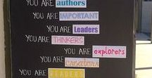 Classroom Decor / Classroom decor, classroom decorations, bulletin boards, classroom doors, classroom displays, organization, classroom themes, elementary, kindergarten, first grade, second grade